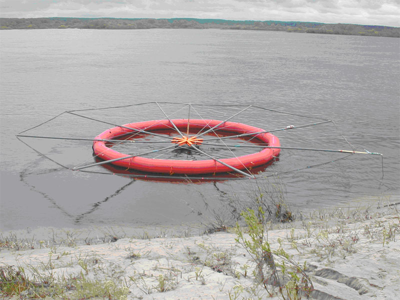 Геофизическая съемка с воды