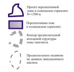 Чайкинское поднятие по данным КАГС